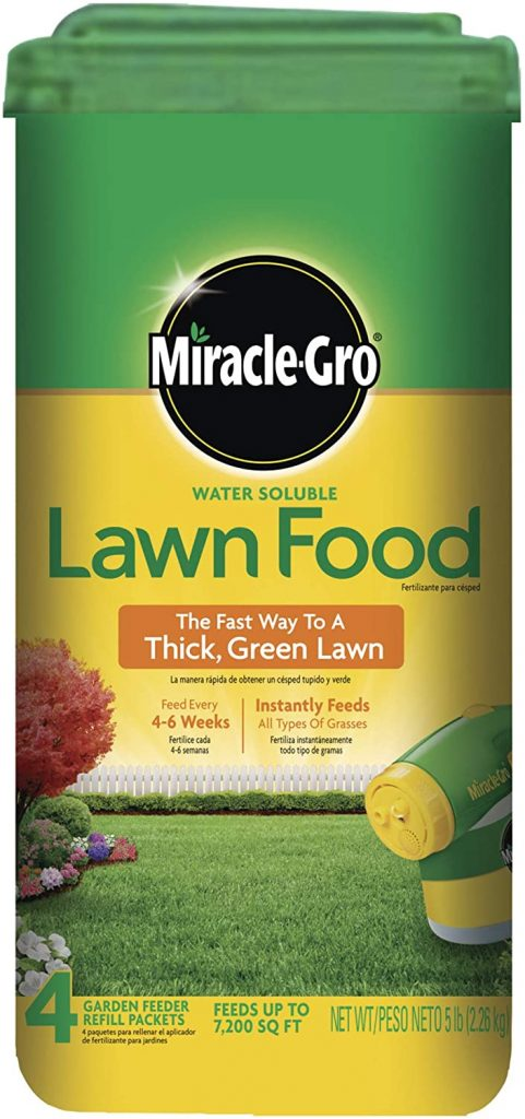 Miracle Gro Lawn
