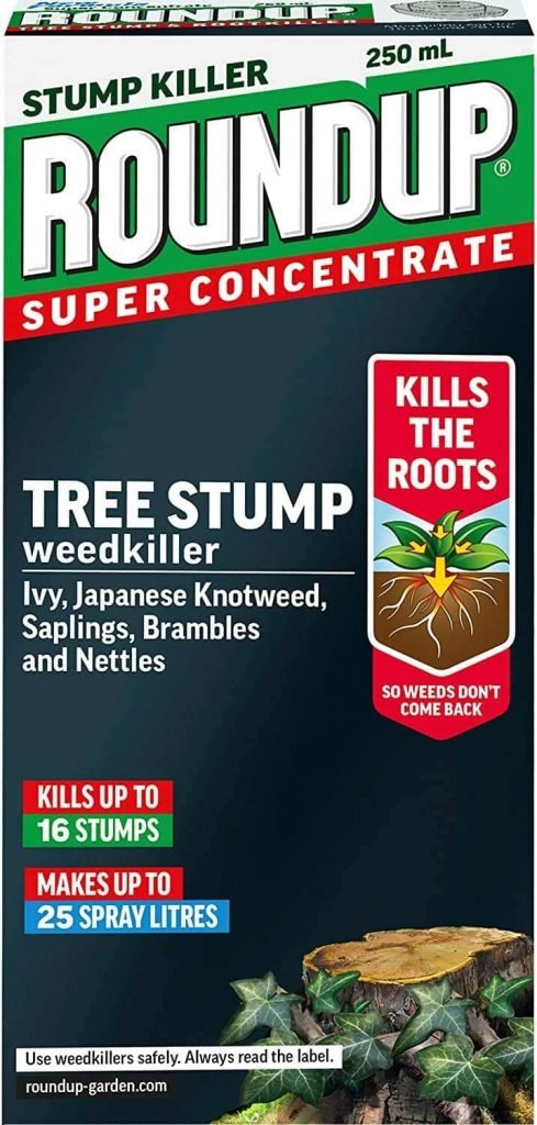 Round Up Tree Stump Killer