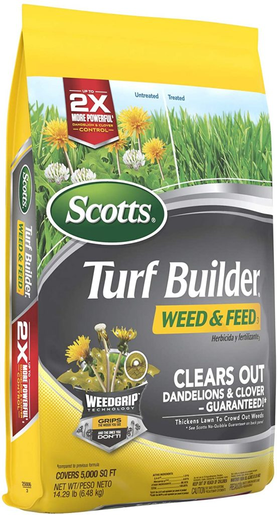 Scotts Turf Builder Dandelion Weed And Feed