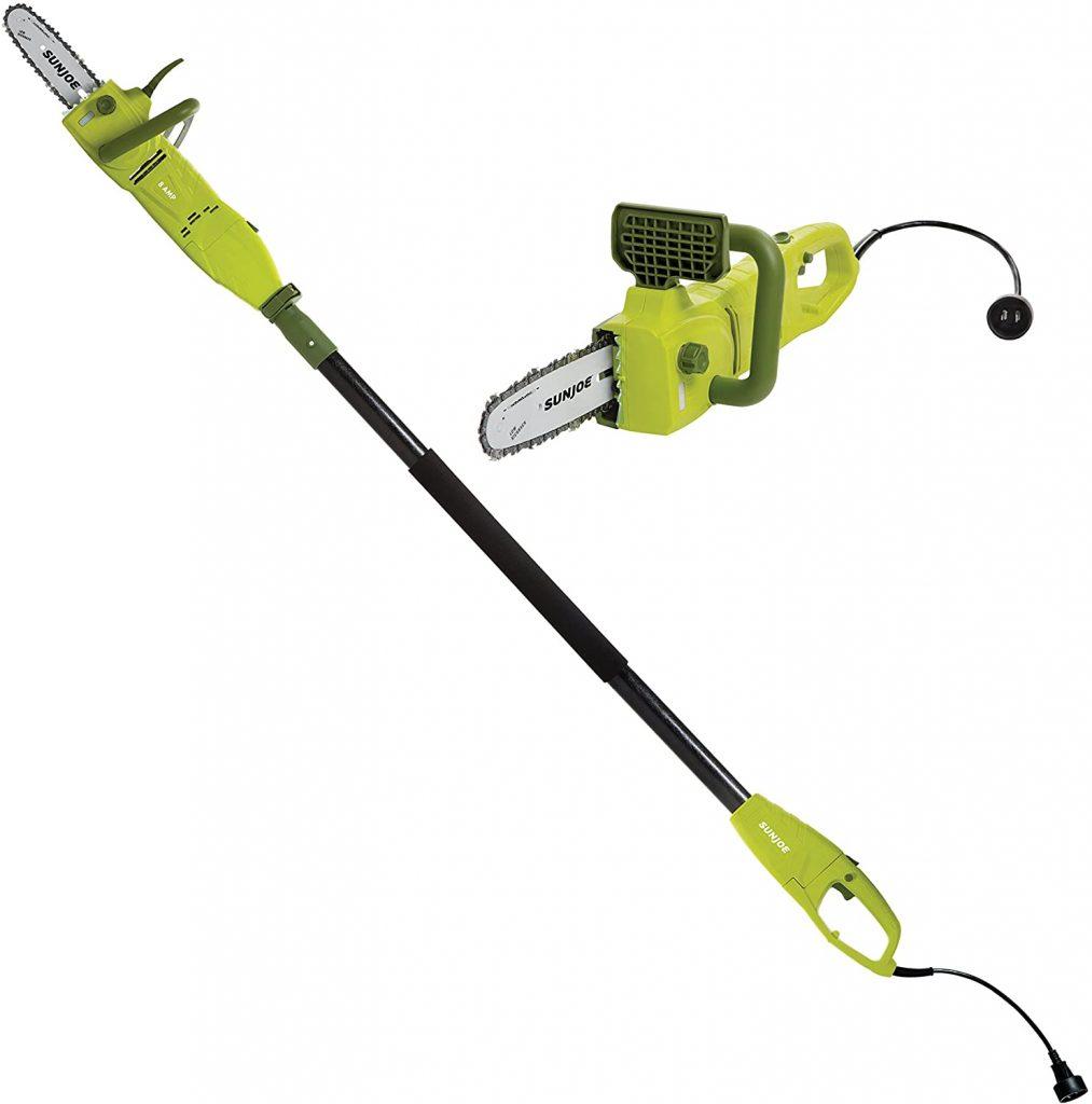 Sun Joe SWJ800E Corded Electric Pole Saw
