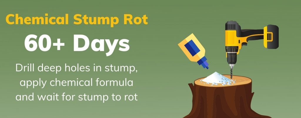 chemical stump rot