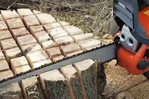 burn out a tree stump