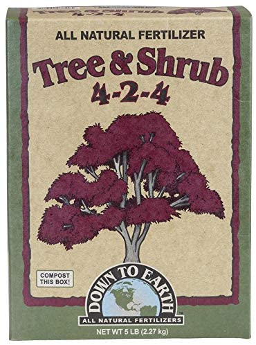 Down To Earth All Natural Tree & Shrub Fertilizer