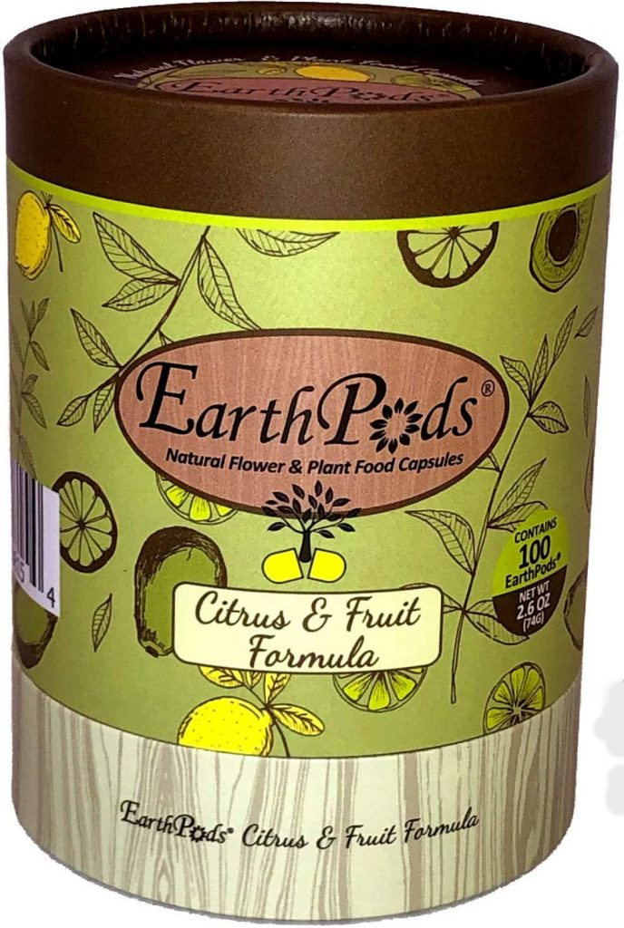 EarthPods Premium Fruit & Citrus Plant Food