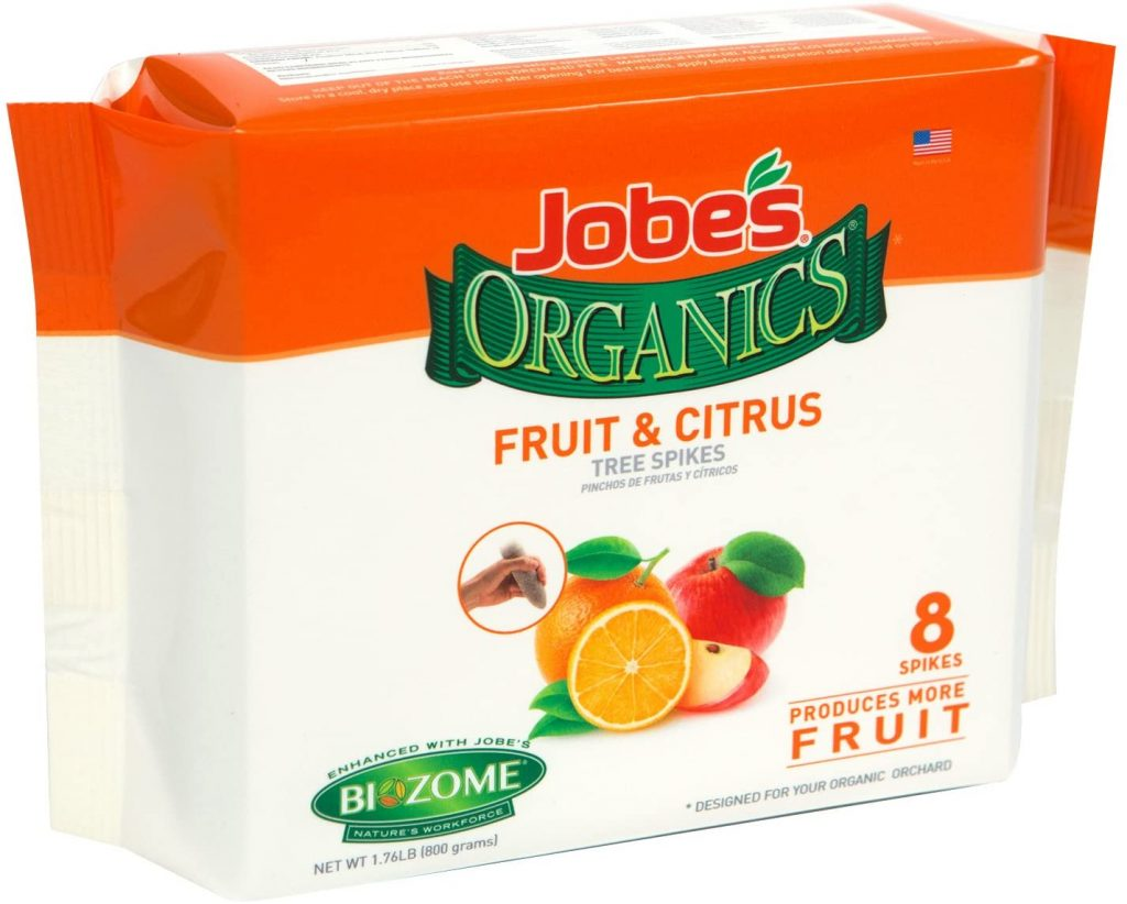 Jobes Citrus Fertilizer spikes