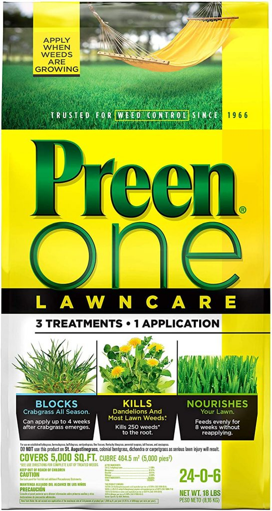 Preen One lawncare