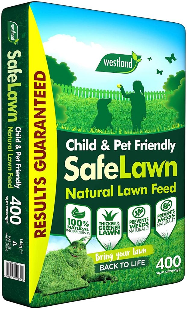 Westland SafeLawn Child and Pet Friendly Natural Lawn Feed