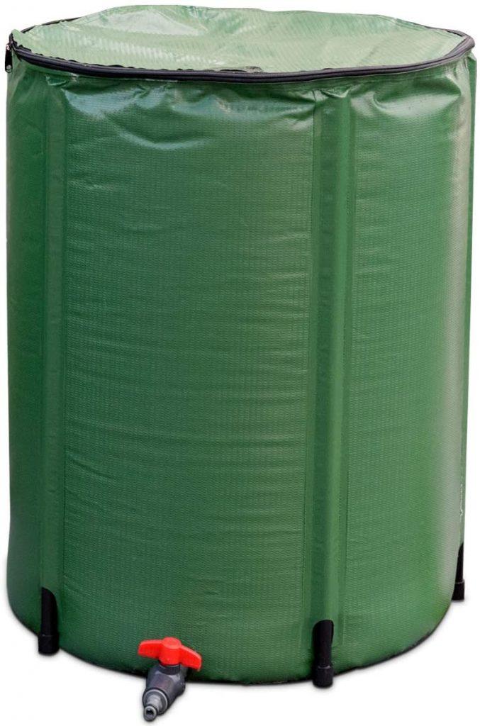 goplus collapsible rain barrel