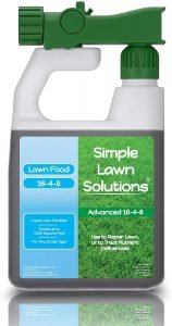 simple lawn solutions liquid fertilizer