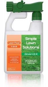 Simple Lawn Solutions 3-18-18 Liquid Lawn Fertilizer
