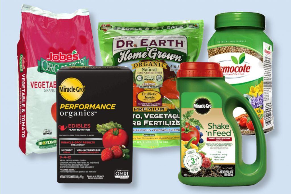 best Vegetable Garden Fertilizer