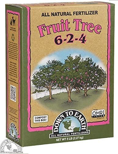 Down to Earth Fruit Tree Fertilizer Granules