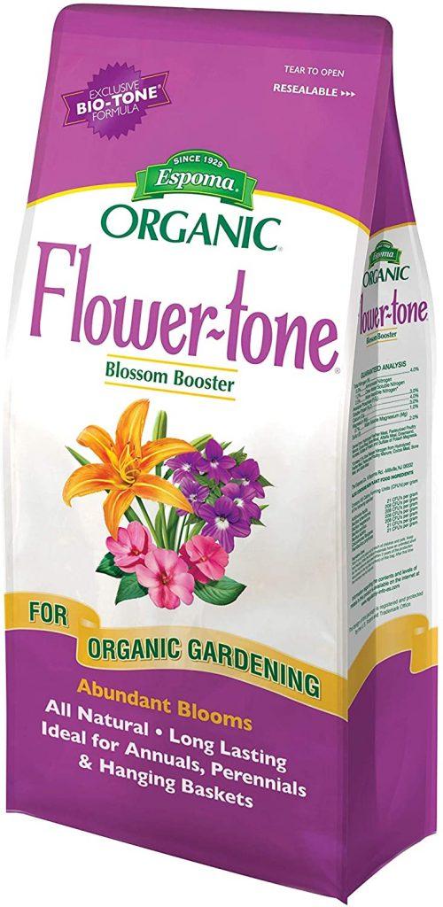 Espoma Flower-Tone Plant Food, Natural & Organic Fertilizer