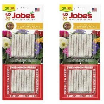 Jobe's Fertilizer Spikes for Flowering Plants