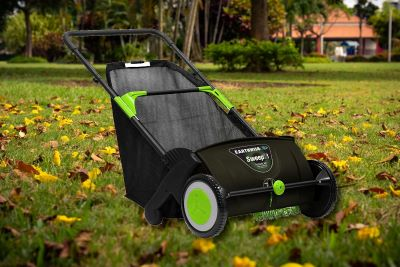 do lawn sweepers work